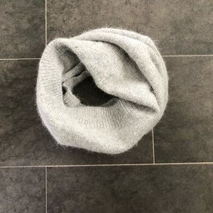 Gray infinity scarf, buff, or cowl. NWOT.